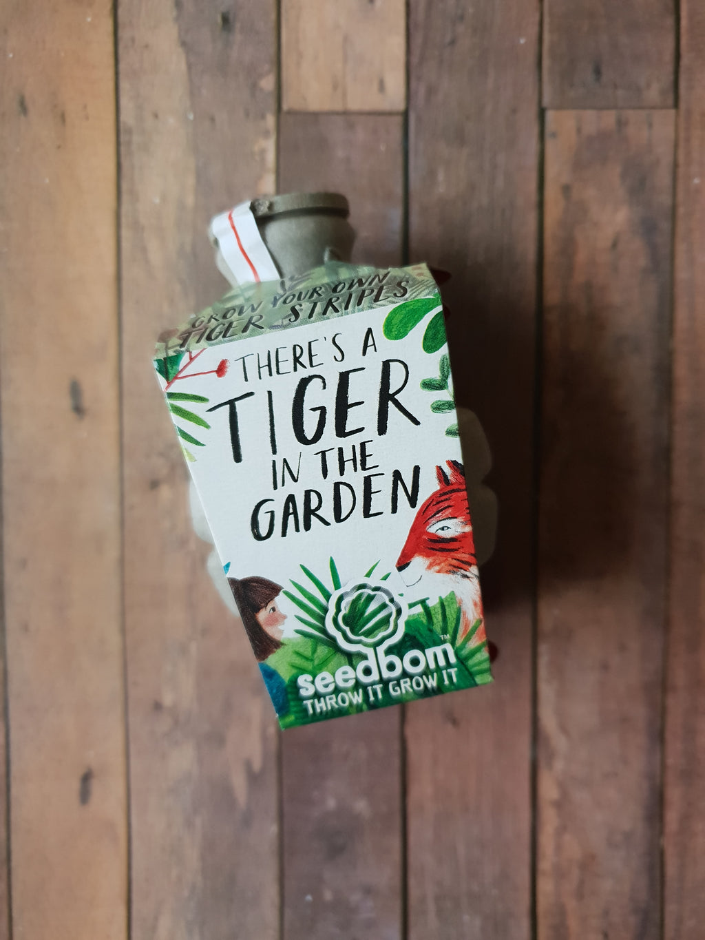 Kabloom Seedbom - There's a Tiger in the Garden!