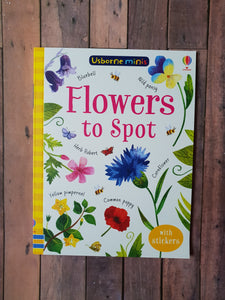 Usborne Minis - Flowers to Spot
