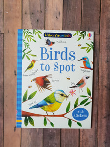 Usborne Minis - Birds to Spot Book