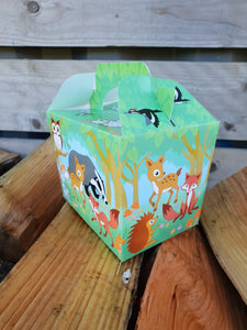 Party Food Box - Woodland Animals