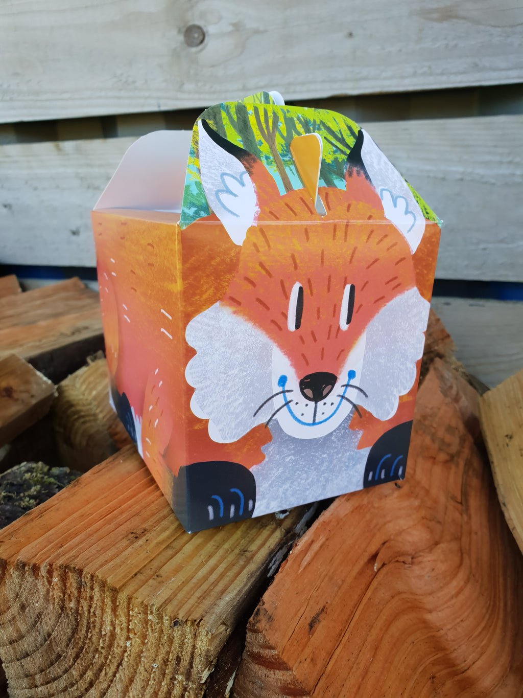 Party Food Box - Fox