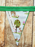 Handmade Bunting - Woodland Animal
