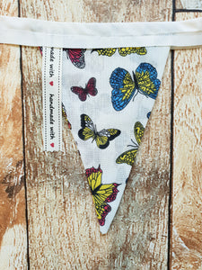 Handmade Bunting - Butterfly