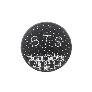 CONSTELLATIONS & SKYLINES |  BTS Iron On Embroidered Patch 방탄소년단
