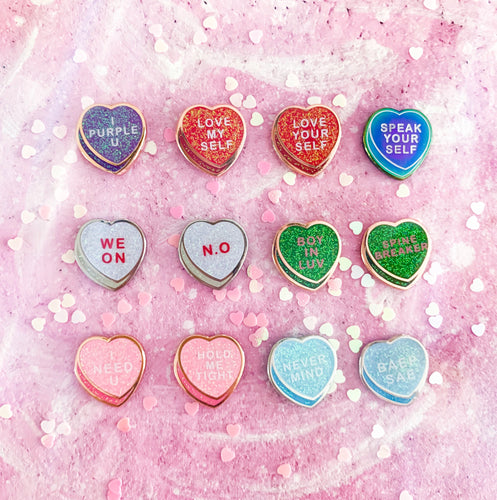 CANDY HEART BOARD FILLERS | BTS Enamel Pin Badge 방탄소년단
