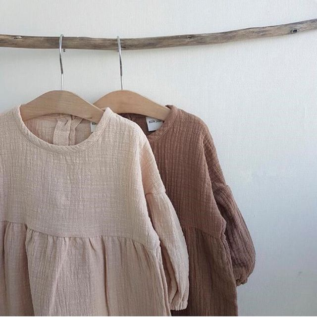L/S Lovely Cotton Frill Top