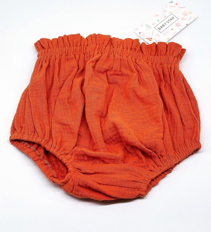 Cool Cotton Unisex Bloomers- Rust (Deep Red)