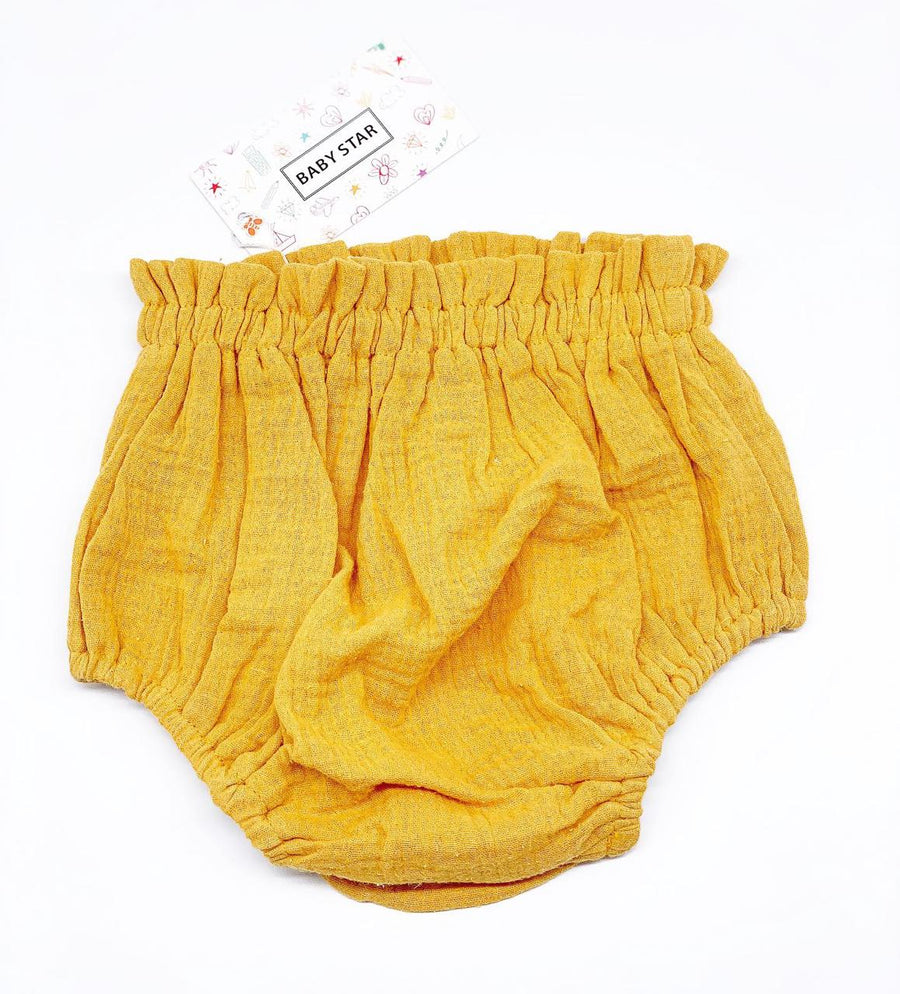 Cool Cotton Unisex Bloomers- Mustard (Yellow)