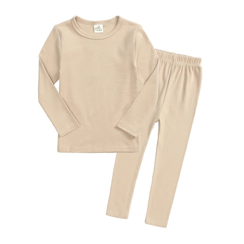 Long Sleeve Set- Light beige