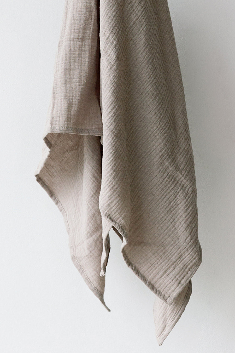 Grey Muslin Swaddle Blanket