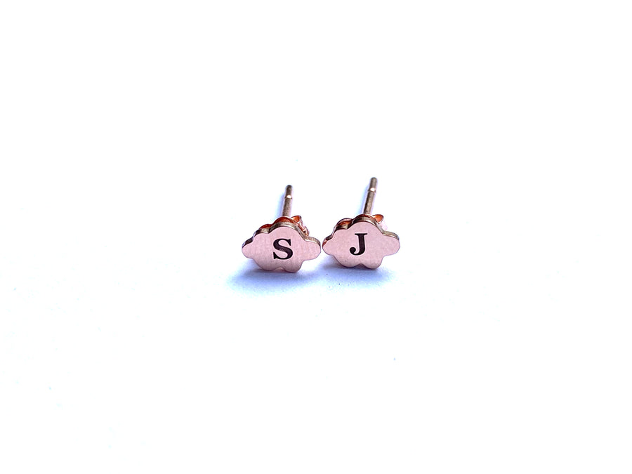 CloudNINE 9ct Rose Gold Earrings