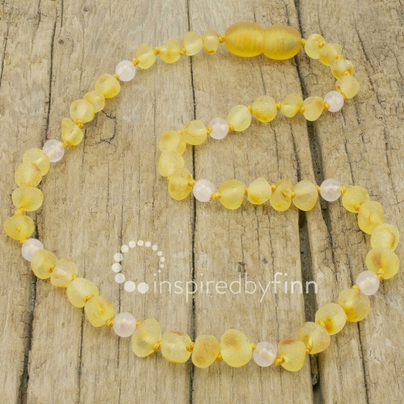 Inspired by Finn Baltic Amber Necklace Adult