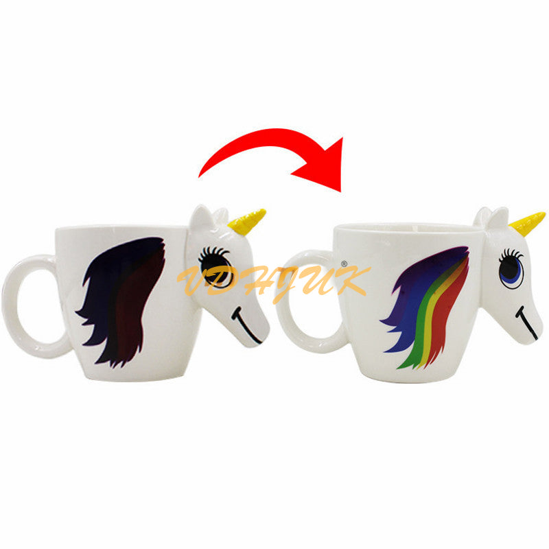 Magical Color Changing Unicorn Coffee Mug - Limited Edition
