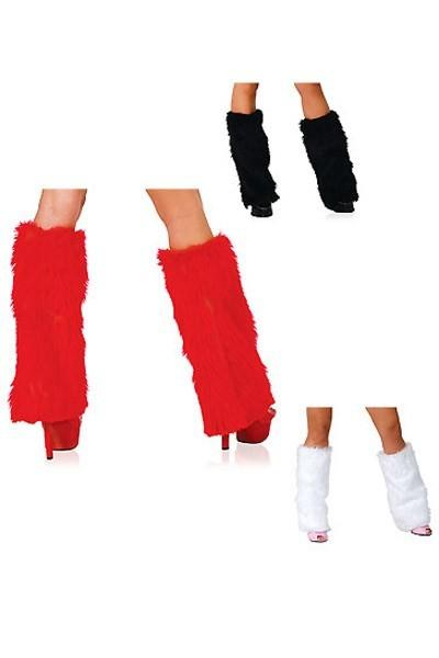 Rave FLUFFIES Furry BOOT COVERS Fur Leg Warmers