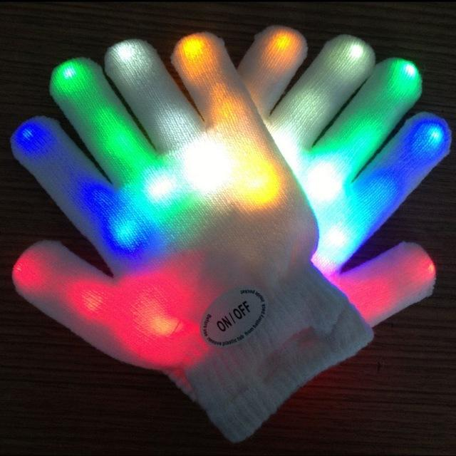 LED Glow Rave Gloves Rave Accessories