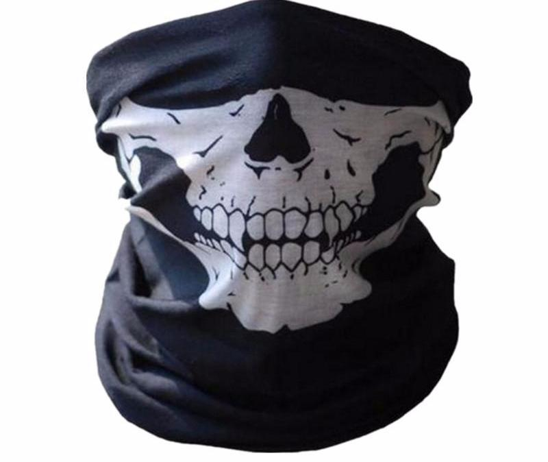Seamless Face Skull Rave Mask Rave Accessories Festival Accessories