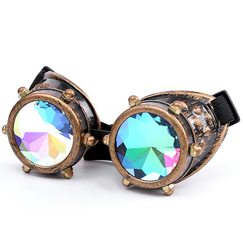 Kaleidoscope Goggles Rave Accessories