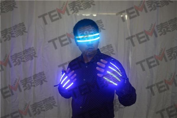 LED Glow Light Rave Gloves and LED Glasses Rave Accessories