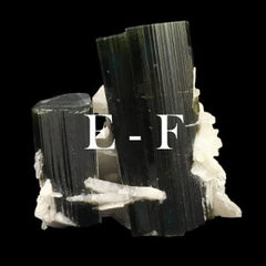 Minerals in alphabetical order: E - F