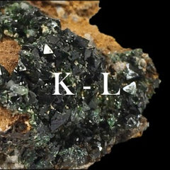 Minerals in alphabetical order: K - L