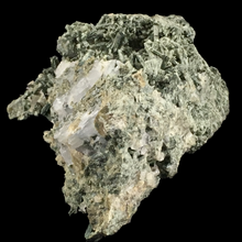 Load image into Gallery viewer, Actinolite var. uralite pseudomorph after diopside; Calumet Mine, Colorado, USA - Alexandria Mineral Shop
