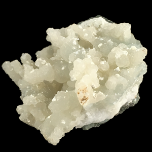Gyrolite on prehnite; Nashik, India - Alexandria Mineral Shop