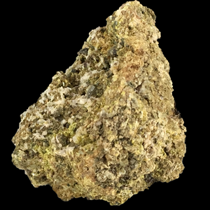 Epidote with albite and diopside; Mina Juanona, Spain - Alexandria Mineral Shop