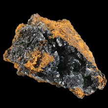 Load image into Gallery viewer, Hemimorphite with calcite; Mina Precaucion, Spain - Alexandria Mineral Shop