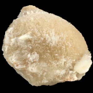 Mesolite on heulandite; Kannad, India - Alexandria Mineral Shop