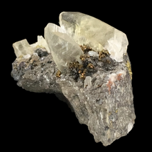 Load image into Gallery viewer, Calcite, chalcopyrite, galena; Sweetwater Mine, Missouri, USA - Alexandria Mineral Shop