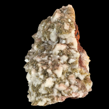 Load image into Gallery viewer, Mimetite on calcite; Mina Potosí, Mexico - Alexandria Mineral Shop