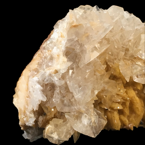 Calcite on dolomite; Marble quarries, Estremoz, Portugal - Alexandria Mineral Shop