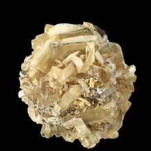 Load image into Gallery viewer, Baryte on pyrite; Cave-in-Rock, Illinois, USA - Alexandria Mineral Shop