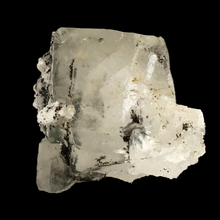 Load image into Gallery viewer, Chamosite on calcite; Millington Quarry, New Jersey, USA - Alexandria Mineral Shop