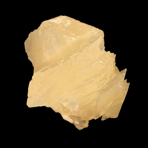 Calcite; Corydon Stone Co. Quarry, Indiana, USA - Alexandria Mineral Shop