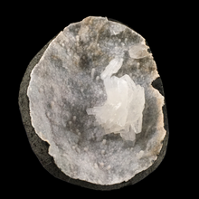Load image into Gallery viewer, Stilbite on quartz; Ozher, India - Alexandria Mineral Shop
