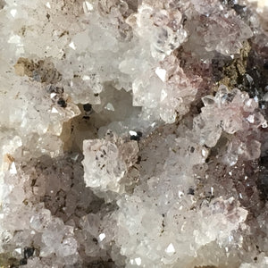 Quartz with hematite; Upper New Street Quarry, New Jersey, USA - Alexandria Mineral Shop
