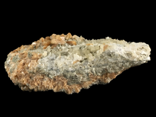 Load image into Gallery viewer, Stilbite and calcite; Moore's Station, New Jersey, USA - Alexandria Mineral Shop