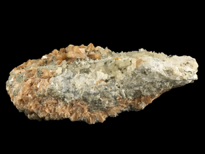 Stilbite and calcite; Moore's Station, New Jersey, USA - Alexandria Mineral Shop