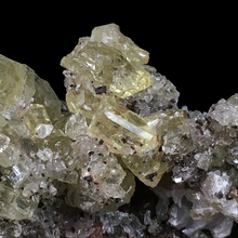Load image into Gallery viewer, Apatite on quartz and hematite; Cerro de Mercado Mine, Mexico - Alexandria Mineral Shop