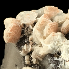 Load image into Gallery viewer, ~Calcite on quartz with smoky quartz; Levant Mine, England, UK - Alexandria Mineral Shop