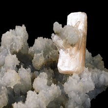 Load image into Gallery viewer, ~Stilbite on chalcedony; Nashik, India - Alexandria Mineral Shop