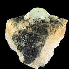 Load image into Gallery viewer, Prehnite with augite; Oficarsa Quarry, Spain - Alexandria Mineral Shop