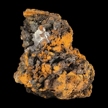 Load image into Gallery viewer, Calcite on goethite with limonite; Trinidad Mine, Spain - Alexandria Mineral Shop