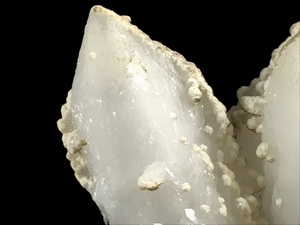 Quartz with calcite and chlorite; Krushev Dol Mine, Bulgaria - Alexandria Mineral Shop