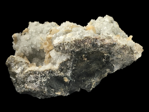 Stilbite and calcite; Lower New Street Quarry, New Jersey, USA - Alexandria Mineral Shop