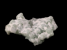 Load image into Gallery viewer, Laumontite on prehnite with apophyllite;  New Street Quarry, New Jersey, USA - Alexandria Mineral Shop
