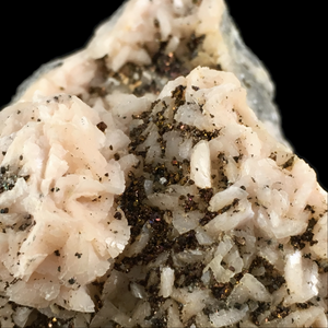 Dolomite with chalcopyrite; Bou Beker, Morocco - Alexandria Mineral Shop