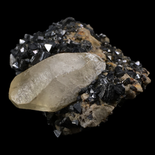 Load image into Gallery viewer, Calcite on sphalerite; Picher, Oklahoma, USA - Alexandria Mineral Shop