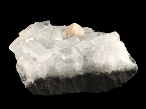 Zeolite group on apophyllite; Poona District, India - Alexandria Mineral Shop
